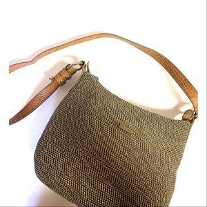 Vintage Eric Javits Woven Squishee Crossbody Bag
